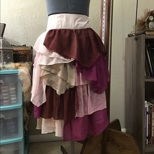 Layered Romantic Skirt